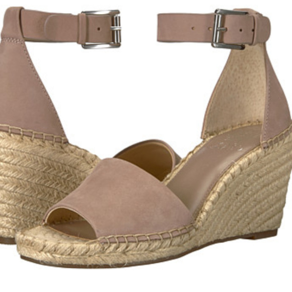 608e311d241 NEW Vince Camuto 9.5 Leera Wedge Sandal Espadrille